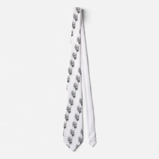 Pacific NW Coast Native Totem Raven and Seagull Neck Tie