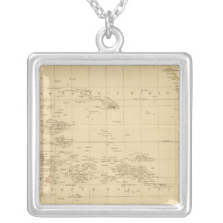 Pacific Ocean 3 Silver Plated Necklace