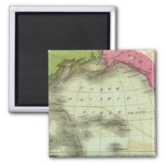 Pacific Ocean 6 2 Inch Square Magnet