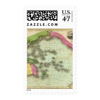 Pacific Ocean 6 Postage Stamp