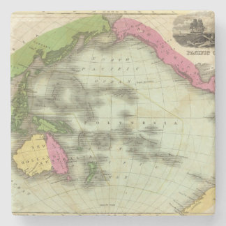Pacific Ocean 6 Stone Coaster