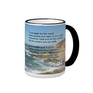 Pacific Ocean as seen from Bodega Bay on a mug