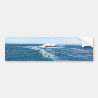 Pacific Ocean at Redondo Beach, California Bumper Sticker