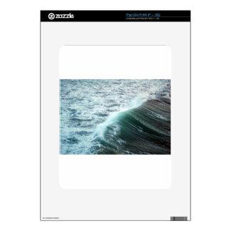 Pacific Ocean Blue Skin For iPad