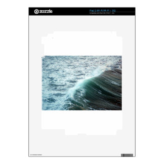 Pacific Ocean Blue Skin For iPad 2