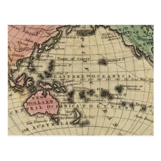 Pacific Ocean, British Islands Postcard