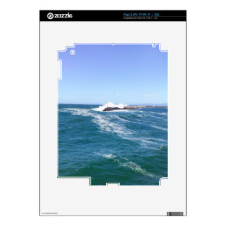 Pacific Ocean in Redondo Beach Decal For iPad 2
