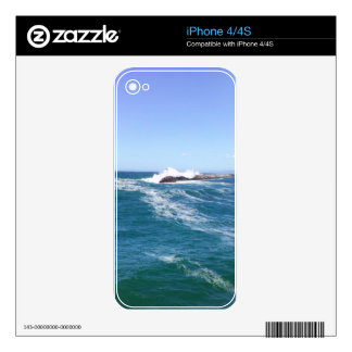 Pacific Ocean in Redondo Beach Decal For The iPhone 4