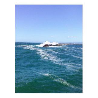 Pacific Ocean in Redondo Beach Postcard