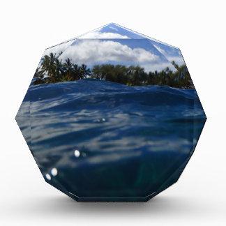 Pacific Ocean Maui Acrylic Award