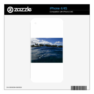 Pacific Ocean Maui Skins For iPhone 4S