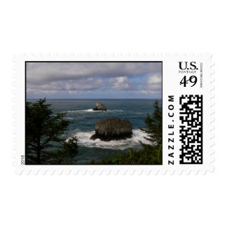 Pacific Ocean Postage Stamp