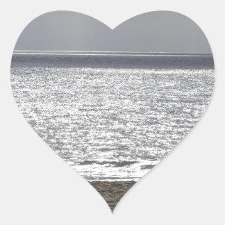 Pacific Ocean, Santa Cruz_.jpg Heart Sticker