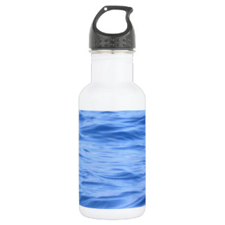 Pacific Ocean Sea Surface Stainless Steel Water Bottle