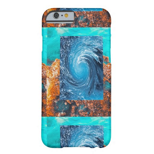 Pacific Ocean Splash Barely There iPhone 6 Case