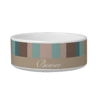 Pacific Ocean Stripes Bowl