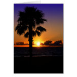 Pacific Ocean Sunset Cards