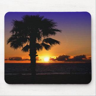 Pacific Ocean Sunset Mousepad