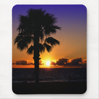 Pacific Ocean Sunset Mouse Pad