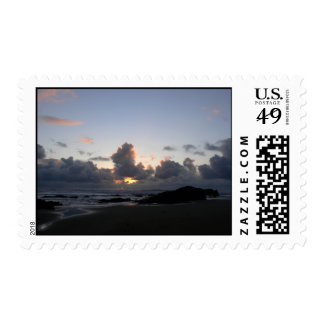 Pacific Ocean Sunset Postage