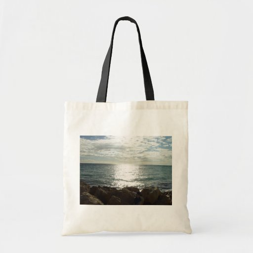 Pacific Ocean Up-Sun From The Rocks Bags