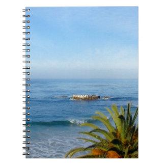 Pacific Ocean View Notebook