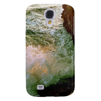 PACIFIC OCEAN WAVES BREAKING OF THE ROCKY COAST SAMSUNG GALAXY S4 CASE