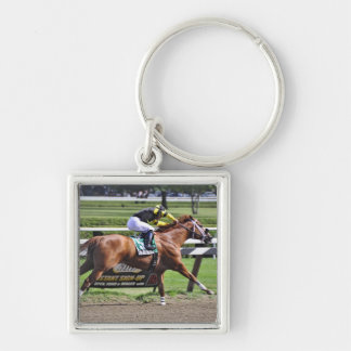 Pacific Ocean winning the James Marvin Stakes Key Chain