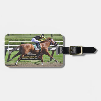 Pacific Ocean winning the James Marvin Stakes Travel Bag Tags