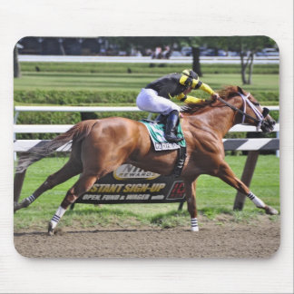 Pacific Ocean winning the James Marvin Stakes Mouse Pad