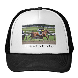 Pacific Ocean winning the James Marvin Stakes Trucker Hat
