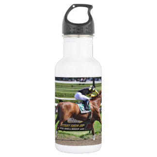 Pacific Ocean winning the James Marvin Stakes Water Bottle