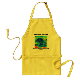 Pacific Ocean World's Largest Air Conditioner Adult Apron