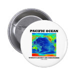 Pacific Ocean World's Largest Air Conditioner Pinback Button