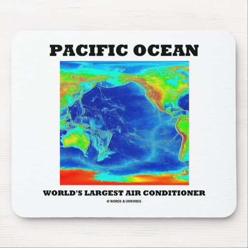 Pacific Ocean World's Largest Air Conditioner Mouse Pad