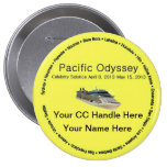 Pacific Odyssey Souvenir Button