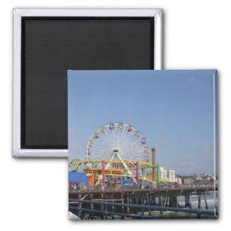 Pacific Park Ferris Wheel 2 Inch Square Magnet