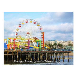 Pacific Park, Santa Monica, Ca. Postcard