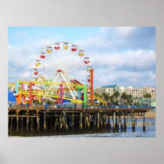Pacific Park, Santa Monica, Ca. Poster