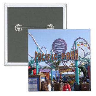 Pacific Park @ Santa Monica Pier Pinback Button