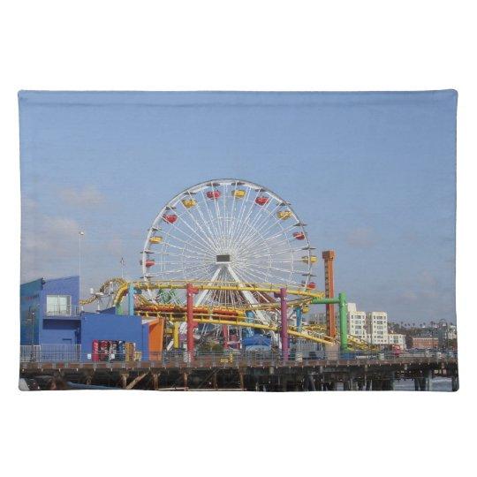 Pacific Park @ Santa Monica Pier Cloth Placemat