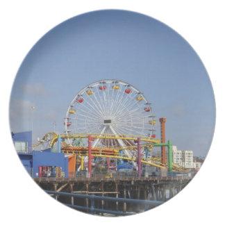 Pacific Park @ Santa Monica Pier Melamine Plate