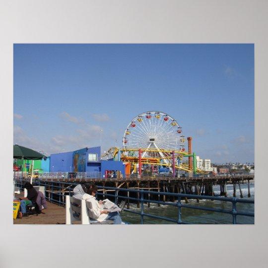Pacific Park @ Santa Monica Pier Poster