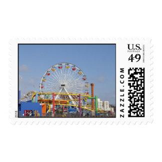 Pacific Park @ Santa Monica Pier Stamp