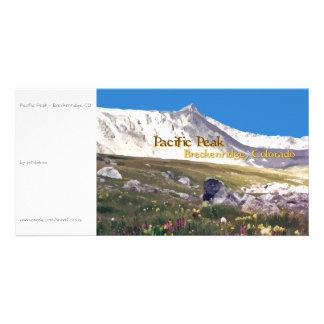 Pacific Peak - Breckenridge CO photocard Photo Card
