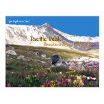 Pacific Peak - Breckenridge, CO postcard