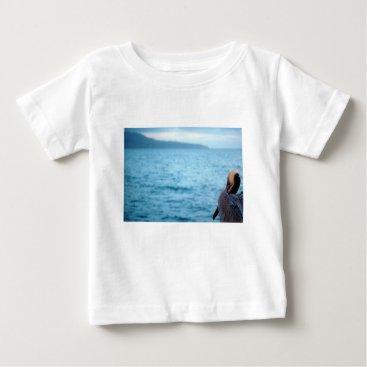 Beach Themed pacific pelican baby T-Shirt