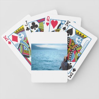 pacific pelican bicycle playing cards