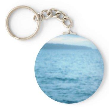 Beach Themed pacific pelican keychain