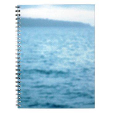 pacific pelican spiral notebook